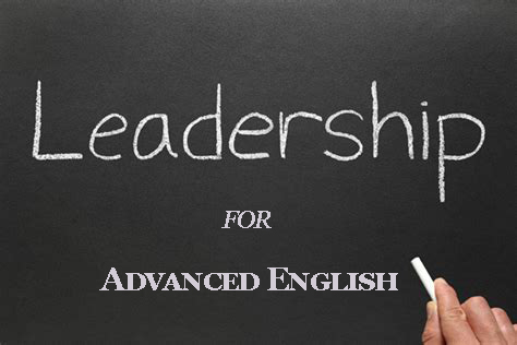 2018 Leadership for Advanced English